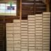 100 houten bakjes voor laboratoria ~ 75 stuks (lxbxh) 20,2x14,5x7 & 25 stuks (lxbxh) 20,2x14,5x9,4