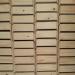 houten bakjes voor laboratoria ~ 75 stuks (lxbxh) 20,2x14,5x7
