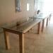perron nul tafel van pallet en glas-4