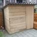 tuinhuisje van steigerhout ~ (lxbxh) 226x173x190