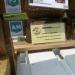 visitekaartjes-display van sloophout & jute ~ voor de zzp'ers organisatie ZZPRO