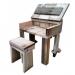 FOR KIDS ~ werkbankje / klustafeltje / lessenaar van steigerhout ~ (lxbxh) 60x40x60